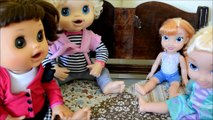 Baby Alive Poops & Breaks Toilet! PART ONE - Funny Baby Alive Videos baby alive story