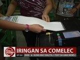 24 Oras: Dating Comelec Comm. Sadain, nababahala sa alitang nina Bautista at Guanzon