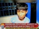 UB: Hinihinalang drug pusher, naaresto sa labas ng eskwelahan sa Ormoc City