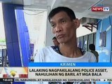 BT: Lalaking nagpakilalang police asset, nahulihan ng baril at mga bala sa Pasig