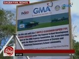 Groundbreaking ceremony para sa mga bagong classroom sa 4 na eskwelahan sa Bohol, isinagawa