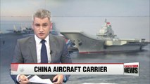 Chinese aircraft carrier Liaoning arrives at naval base in Hainan