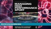 EBOOK ONLINE Managing High Performance Sport (Foundations of Sport Management) DOWNLOAD ONLINE