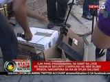 SONA: Ilang kontrabando sa maximum security prison sa Bilibid, nakumpiska sa ika-26 na Oplan Galugad