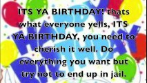 Happy Birthday Rap Song for You - video dailymotion