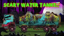 Haunted House Monster Truck - Haunted House Monster Truck | Scary Car Garage | Video for Kids
