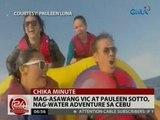 24 Oras: Mag-asawang Vic at Pauleen Sotto, nag-water adventure sa Cebu