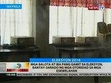 BT: Mga balota at iba pang gamit sa eleksyon, banta-sarado ng mga otoridad sa mga eskwelahan