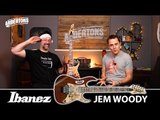 "Ibanez Jem 77 ""Woody"" Demo - A New Guitar for Steve Vai!"