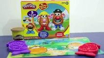 Play Doh Play Dough Mr Potato Head & Mrs Potato Head TOY REVIEW Hasbro