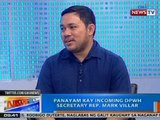 NTG: Panayam kay incoming DPWH Secretary Rep. Mark Villar