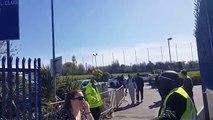 Riyad Mahrez avec des supporters Algériens ( Kabyles ) à Leicester City