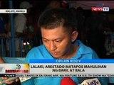 BT: Lalaki, arestado matapos mahulihan ng baril at bala