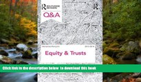 Read Online Mohamed Ramjohn Q A Equity Trusts 2013-2014