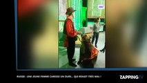 Russie : Une femme sauvagement attaquée par un ours à la télévision ! (Vidéo)