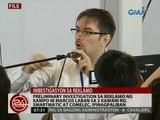 Prelim. investigation sa reklamo ni Marcos laban sa 2 kawani ng Smartmatic at COMELEC, ipinagpaliban