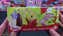 Winnie the Pooh Surprise Eggs Unboxing - Tigger, Rabbit, Piglet Toys