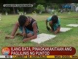 UB: Ilang bata sa Ilocos Norte, pinagkakakitaan ang paglilinis ng puntod