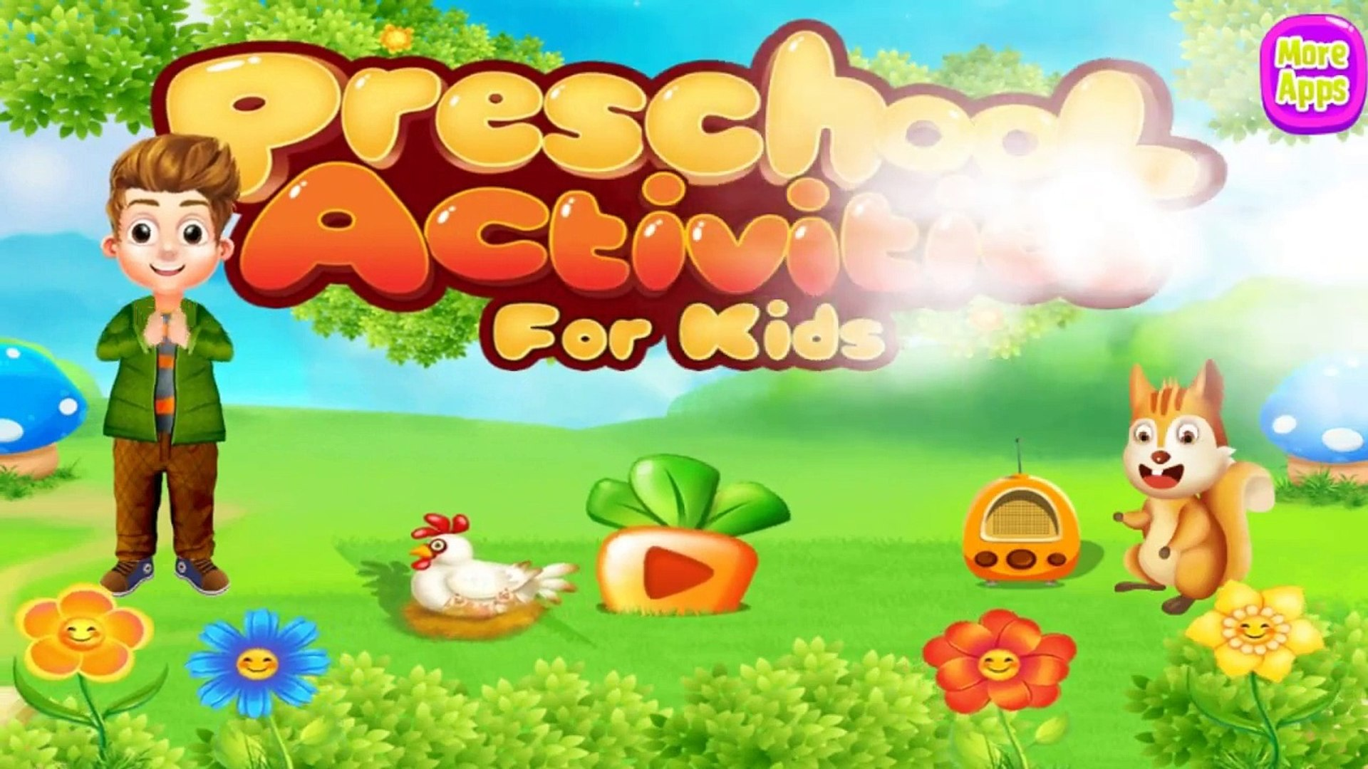 Preschool Activities For Kids - Learning Musical Instruments Sounds
