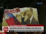 Kautusang pumipigil sa paghimlay kay Marcos sa Libingan ng mga Bayani, extended hanggang Nov. 8