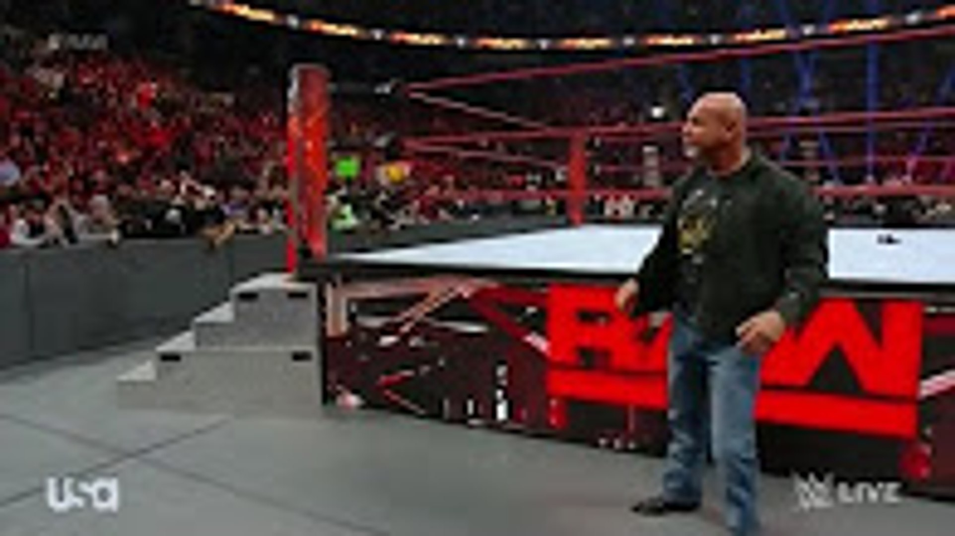 WWE Goldberg Save Stone Cold Steve Austin and attack Batista and Mark Henry HD Real Match