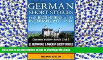 Free [PDF] Downlaod  German Short Stories for Beginners   Intermediate Level: 11 Humorous Short
