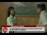 24 Oras: VP Leni Robredo, itinalaga ni Pang. Duterte bilang HUDCC chairman