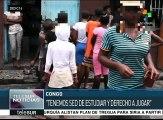 Niños de la calle del Congo recurren a organizaciones sociales