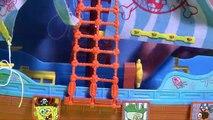 (TOYS) BOB LEPONGE Nickelodeon Bateau Pirate jouets pistolets à eau ★ SpongeBob Pirate Ship Water