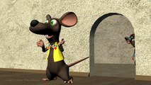 Funny Happy Birthday Song. Mouse sing Happy Birthday To You-3OsHNlsp3zw