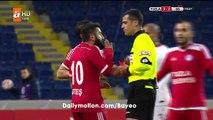 Dogan Ates RED CARD HD - Tuzlaspor 3-2 Galatasaray - 28.12.2016 Turkish Cup - Second stage