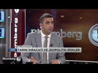 """Tarım Analiz """"Tarım İhracatı ve Jeopolitik Riskler""""   25 Mayıs 2016"""