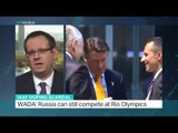Interview with David Larkin from Washington DC about IAAF doping scandal