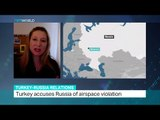 Interview with Albina Kovalyova about Russia's response to latest Turkish airspace violation