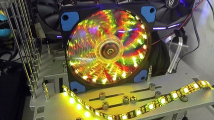 BIOSTAR VIVID LED DJ and VIVID LED Fan Lighting Overview
