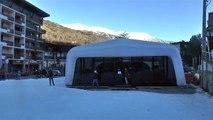 Hautes-Alpes : Un club de Yoga en bas des pistes de ski à Serre-Chevalier