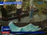 Saksi: Baha at landslide, problema pa rin; tricycle driver na tumawid sa baha, patay