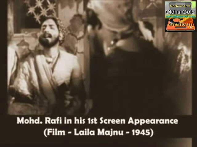 Muhammad Rafi Sahib on-screen in 3 Indian Films
