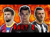 Top 10 Most Hated Footballers | Part 2 | Figo, Ronaldo & Vardy!