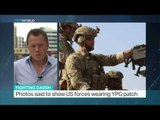 Turkey calls US 'two-faced' for its view of YPG, Andrew Hopkins reports