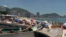Récord de calor en Rio para Año Nuevo