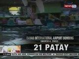 BT: Sasa Wharf Bombing at Valentine's Day Bombing, ilan sa mga puminsala sa Davao City