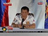 SONA: Pres. Duterte, minsang binanggit na nais niyang ungkatin muli ang isyu ng pork barrel scam
