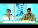 Venezuela-Colombia Relations: Border between countries to be reopened, Juan Carlos Lamas reports