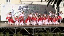 Novogodišnja plesna priča na splitskoj rivi 1  dio