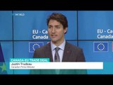 Canadian PM, EU leaders sign trade agreement