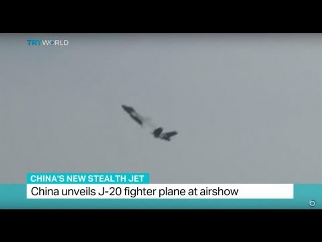 China's New Stealth Jet: China unveils J-20 fighter plane at airshow | Godialy.com