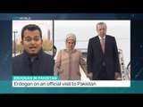Turkish president Erdogan on an official visit to Pakistan