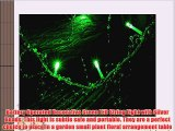 Battery Operated Silver Beads with Green LED String Lights Christmas Lights Party Lights (Free