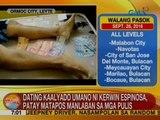 UB: Dating kaalyado umano ni Kerwin Espinosa, patay matapos manlaban sa mga pulis sa Leyte